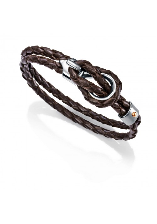 PULSERA VICEROY FASHION PIEL MARRON REF 2004P09011