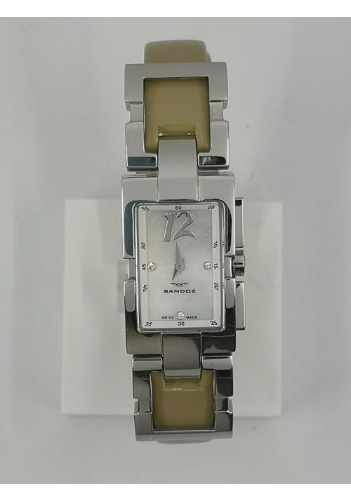 Reloj Sandoz mujer brillantes 71582 70 swiss made